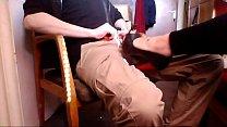 hot shoejob in peep toe high heels by shoejobqueen