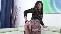 Big butt slut Katlein Ria douple penetrated & f... Thumbnail