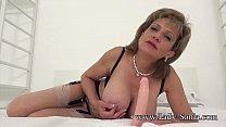 British MILF Sona begs for a creampie