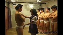 Bukkake Highschool Lesson 7 2/4 Japanese uncensored blowjob