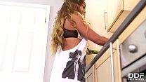 Perfect Milf Amanda Rendall Fucks herself senseless in the Kitchen