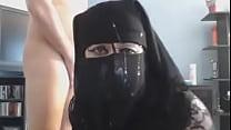 Self shot pakistani hijab nude for bf in bathroom thumb