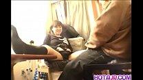 Schoolgirl filmed when shaking dick in the puss...