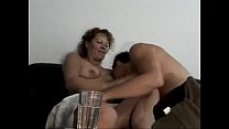 Marine - german oma makes love with young toyboy Thumbnail