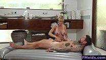 Big tits milf Brandi Love massage and fuck Thumbnail