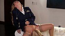 Blonde lesbian soldiers - Girlsway - Cherie DeV...