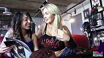 SEXYMOMMA - Lesbian threeway with an alluring mature dyke Thumbnail