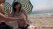 Hina Maeda outdoor POV scenes in sleazy manners