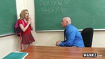 wankz   teen gets creampied by teacher