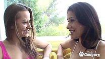 Dani Daniels Makes Sweet Lesbian Love To Vaness...