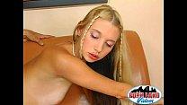 beautiful blonde teen loves fucking and sucking...