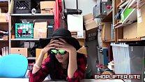 Desperate Shoplifting Babe Back-Room Sex-Tape