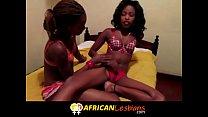 Amazing Real Amateur African Lesbian Scene Neve...