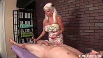 Huge-Titted Granny Handjob Thumbnail