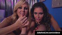 Cock Sucking Milfs Julia Ann & Jessica Jaymes S... Thumbnail