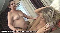 Chuby mom Eve Tickler eating Jessyca Cold s fresh pussy