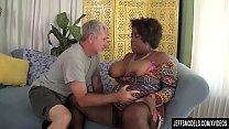 Black BBW Marliese Morgan Has a Thick White Coc...