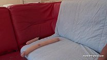 French brunette babe deep ass fucked plugged and fist fucked for casting couch