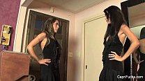 Horny Dress Up Friends With Capri Cavanni