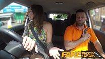 Fake Driving School Ava Austen Gets Cum-pensati...