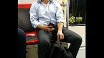 cute guy bulge subway Thumbnail