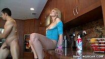 Jordan's Divorcerette CFNM Dancing Bear Party w...