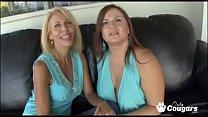 Lesbian Mature Women Erica Lauren & Jessica Dvi...
