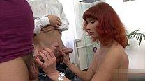 Horny girl creampie accident