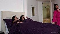 Step-sisters Adriana Chechik and Jade Nile Lick...
