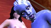 Mass Effect Threesome - download porn videos
