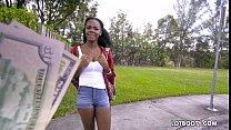Ebony big ass teen Haylee Wynters gets interrac...