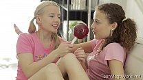 TeenMegaWolrd.net - Angel & Caroline - Pigtaile...