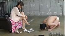 Japanese Femdom Emiru Otohime Foot Worship thumb