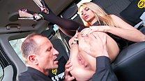 FUCKED IN TRAFFIC - Gorgeous blonde Karina Gran...