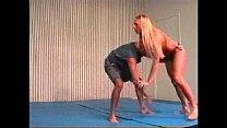 Flamingo Mixed Wrestling mw084 Jessica vs Paul Part 2