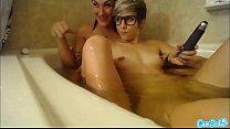 amazing lesbian teens maturbating in college ba...