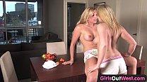 girls out west   blonde australian lesbians loving 69