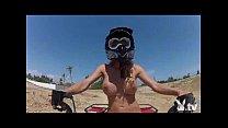 hot girls driving 4wheelers naked