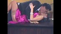 Long purple elegant classy satin prom dress sex... Thumbnail