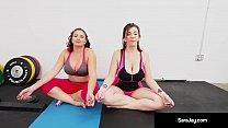 Sara Jay, Gia Love, & Angelina Castro Do Some L...