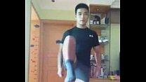 Chinese Muscle Hunk JO Vid