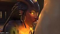 Dragon Symmetra Blowjob Thumbnail