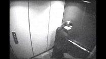 Secretary blowjob in elevator