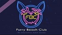 Furry Beach Club - Carla doggy style and she likes it a lot!