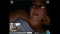 amber mercer masturbating on skype webcam 4
