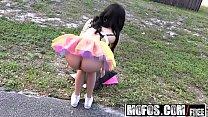 Mofos - Stranded Teens - Ebony Raver Gets Freak...