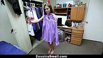 ExxxtraSmall - Cute College Teen Rides Huge Shlong Thumbnail