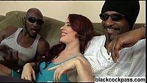 White girl taken by well built black men