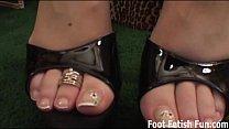 Worship my feet and you'll get a footjob Thumbnail