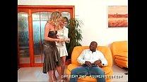 threesome interracial